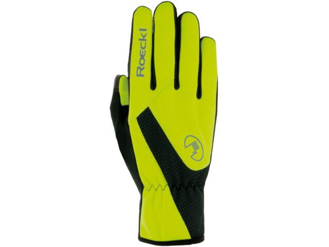 Roeckl Roth Gants de cyclisme, neon yellow